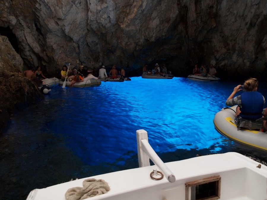 The Blue Cave